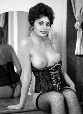 Sophia Loren Photo Hollywood Sex Symbol Italian Actress