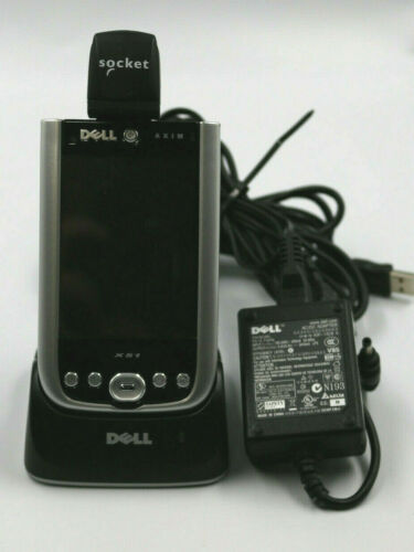 DELL AXIM X51 PDA w/ Socket Scanner, USB/AC Cradle