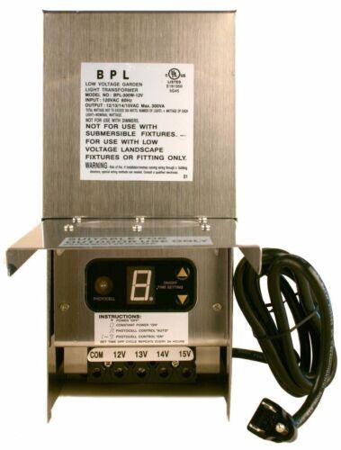 60 150 300 600 Watt Low Voltage Landscape Light Transformer 12-15 Volt Multi-Tap