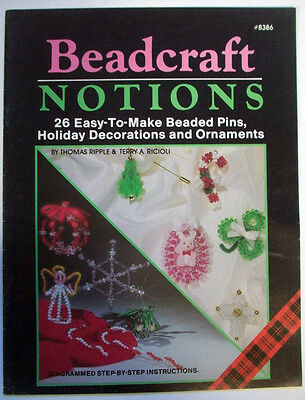 Beadcraft Notions Christmas Halloween Easter  ornaments pins decoration