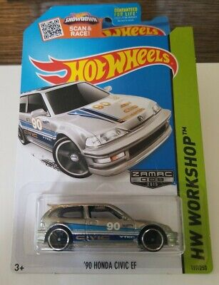 Hot Wheels 2015  Zamac 1990 Honda Civic EF  # 9