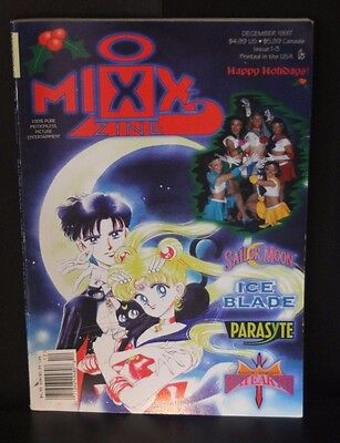MixxZine Issue 1-3 Dec 1997 MIXX - Sailor Moon, Parasyte, Magic Knight Rayearth