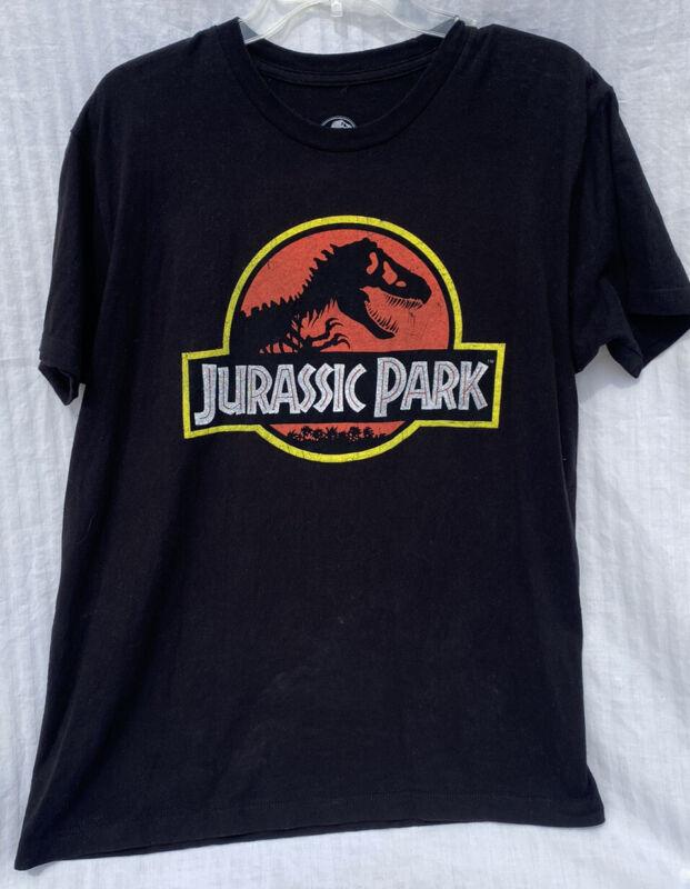 Jurassic Park Universal Studios Mens L Cotton Graphic T Shirt 71868 Amblin