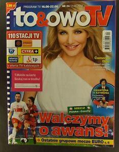 CAMERON DIAZ mag.FRONT cover 24/2012 George Clooney,Julia Roberts,Richard Gere - <span itemprop=availableAtOrFrom>europe, Polska</span> - Zwroty są przyjmowane - europe, Polska