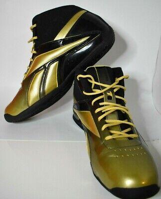 Reebok mens  shoes rb 911 flu 4-j13812 golden/black size US-15, EUR-50