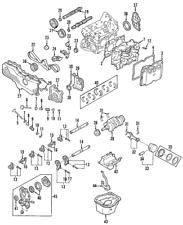 OEM NEW 1999-2012 Genuine Subaru Impreza Legacy Intake