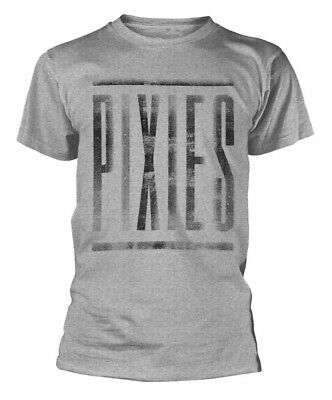 Pixies 'Distressed Logo' T-Shirt - Neu und Offiziell ()