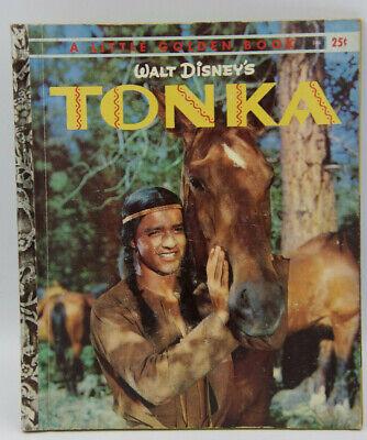 Vintage A Little Golden Book  Tonka  1959  Walt Disney
