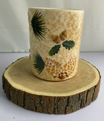 Yankee Candle Tea Light Wax Warmer Fall/Winter Acorns And Pinecones