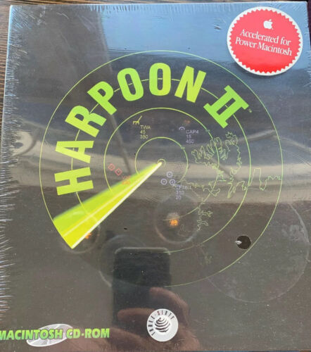 Harpoon 2 For MAC. Still Sealed  - $34.95