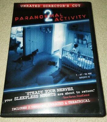 Paranormal Activity 2 (DVD, 2011) *HORROR *HALLOWEEN (Paranormal Activity Halloween)