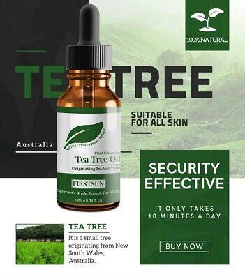 Aceite de arbol de Te ,Aceites esenciales 100% natural. Cicatriz, acne ,...