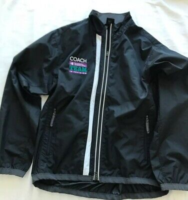 Mens Nike Jacket Size small.  Clima Fit Full Zip Jacket Black EUC. Free Shipping