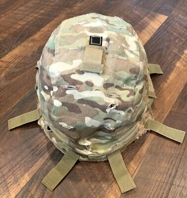 GENUINE US MILITARY ARMY ISSUE MULTICAM OCP ADVANCED HELMET COMBAT COVER ACH S/M