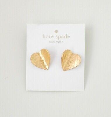 Kate spade New York metal petal studs earrings