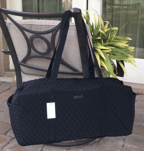 large traveler duffel bag classic black overnight