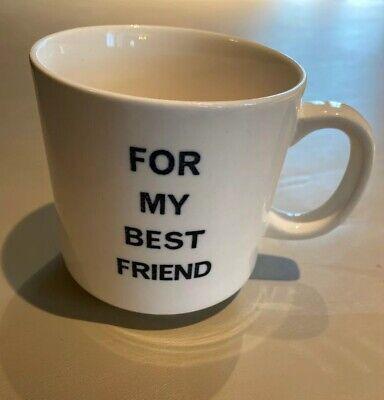 For My Best Friend Mug Novelty Cup Middle Finger Vintage Gag