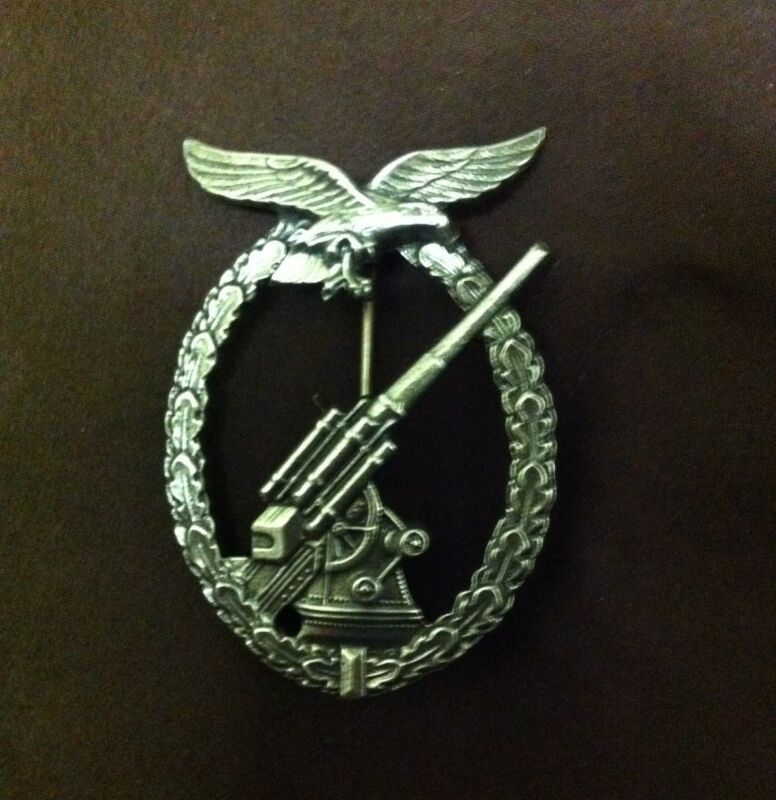 German Luftwaffe Air Force Anti-Aircraft Badge