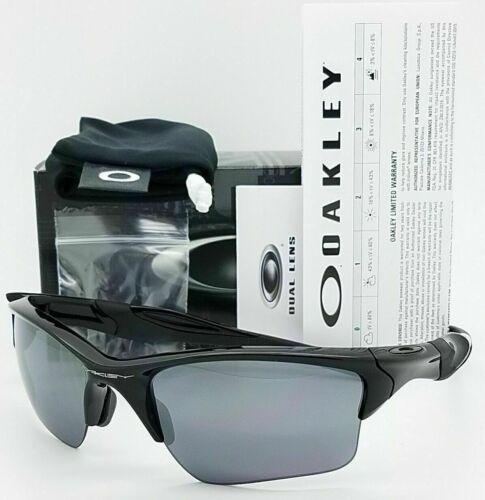 Oakley Half Jacket 2.0 Sunglasses OO9154-01  Polish  Black W/ Black Iridium Lens