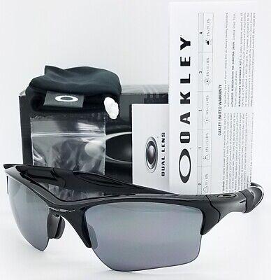NEW Oakley Half Jacket 2.0 XL sunglasses Black / Black Iridium AUTHENTIC (Oakley Half Jacket 2.0 Xl Polarized)
