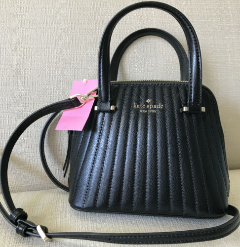 NWT Kate Spade Patterson Drive Quilted MINI Dome Satchel, Bl