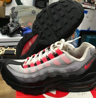 Nike Air max '95 (GS) trainers shoes 905348 013 Size 6.5Y Pink White Grey Girls  ()
