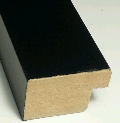 ☆FREE SHIP☆ 90 ft - Black Picture Frame Moulding, German Matte, MADE IN USA