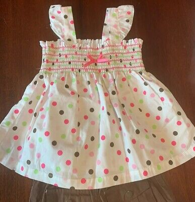Brand New Smocked Top and Capri Pants Outfit, New with Tags, Size -