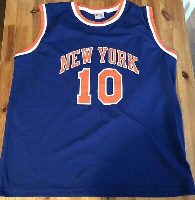 New York Knicks Jersey One Size Fits Most #10 Walt Frazier Madison Square (New York Jersey Gardens)