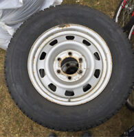 Steel Rims and 2 Sets of Tires - 2010 Chev Colorado