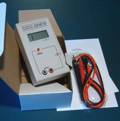 In - Circuit Capacitor ESR Meter Tester
