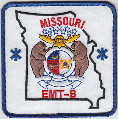 Missouri EMT-B shoulder patch MO EMS Emergency Medical Technician