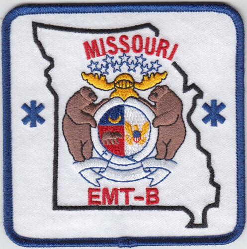 Missouri EMT-B shoulder patch MO EMS Emergency Medical Technician