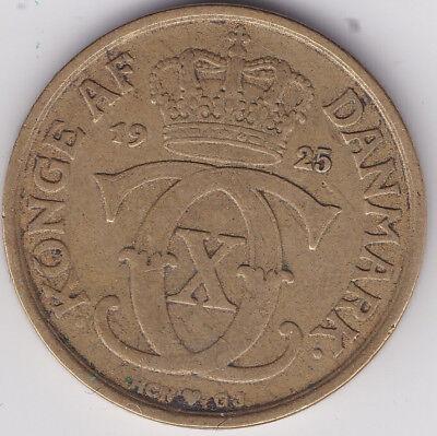 Gebraucht, 1 Krone 1925 Danmark Kursmünze Bronze Dänemark gebraucht kaufen  Stadtallendorf