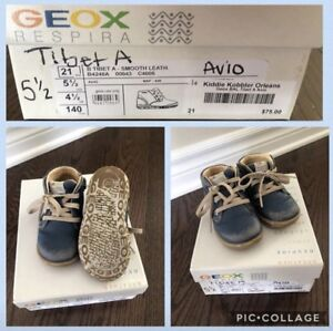Geox toddlers boy shoes sz 5.5