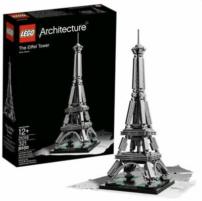LEGO 21019 Architecture The Eiffel Tower 321pcs NISB New in Sealed Box Fast Ship