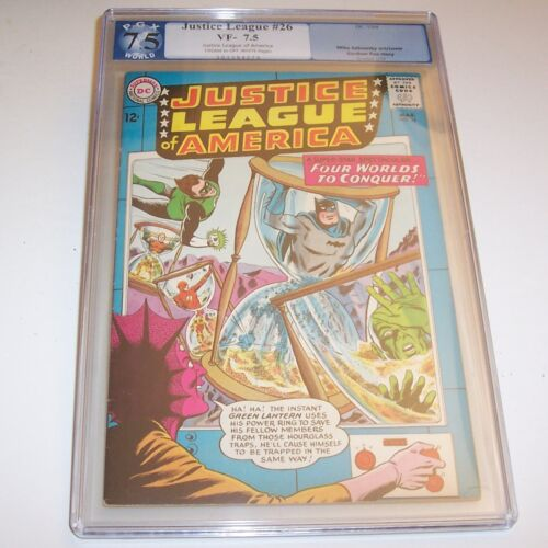 Justice League of America #26 - PGX VF- 7.5 - 1964 DC Silver Age issue