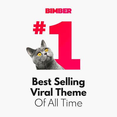 Bimber Theme - Wordpress - Lifetime Update - Original Theme
