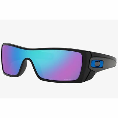 Oakley Batwolf Men's Sunglasses Prizm Sapphire Iridium W/Extra Icons OO9101 5827
