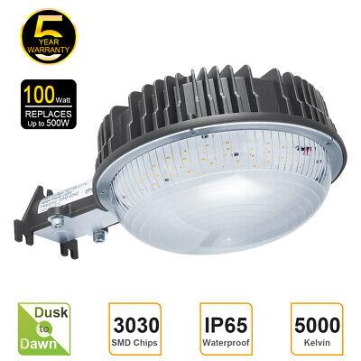 Led Barn Light 80w 100w Dusk To Dawn Photocell Yard Garden Parking Lot Security