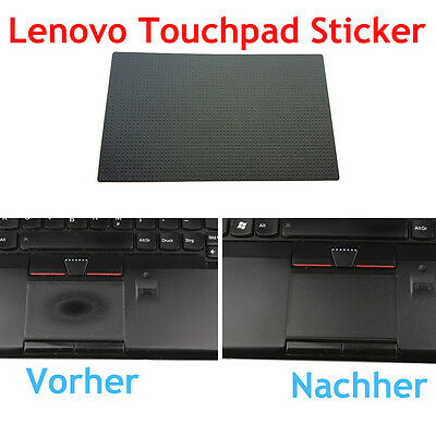 2x Lenovo ThinkPad Sticker TouchPad Folie NEU für T420, T430, T430s, T520 T530