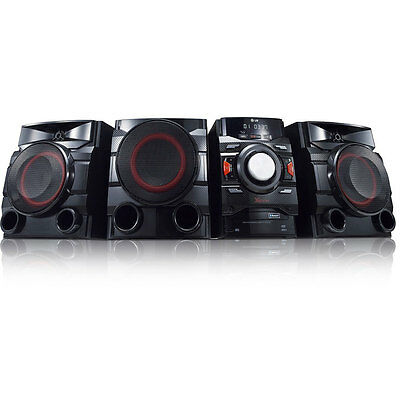 LG 700W 2.1ch Mini Shelf Speaker System with Subwoofer | Bluetooth | Dual USB
