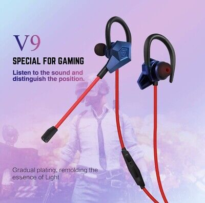 Soutege V9 in-Ear Gaming Earphones Support PS4/psp/Xbox360/Xbox one/PC