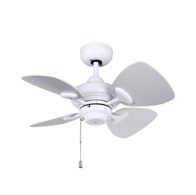 Kendal Lighting AC16324-WH Aires 24 in. White Ceiling Fan