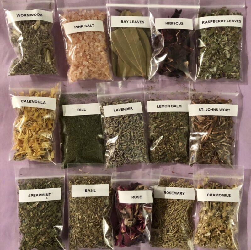 15 Witchcraft Herbs