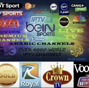 All channels Over 5000 and all new movies