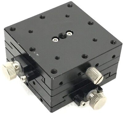 Linear Stage Positioner Manual Stage Xy Axistravel 10mm Size 60x60x34mm