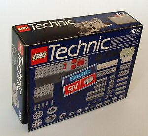 lego technic 8720 9v motor set 57 teile 7 16 jahren neu ebay. Black Bedroom Furniture Sets. Home Design Ideas