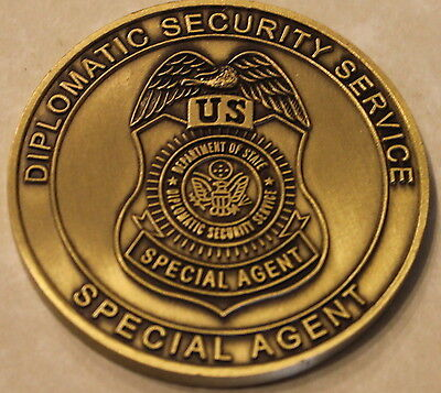 State Department Diplomatic Security Service Special Agent Challenge Coin