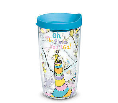 Tervis Tumbler Company Oh The Places You'll Go with Lid 16 oz. Tumbler 1131379 - Oh The Places You Ll Go Party